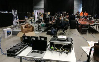 Uniwan alimente les 200 gamers de la LouvardGame 6 en internet sous 24h !