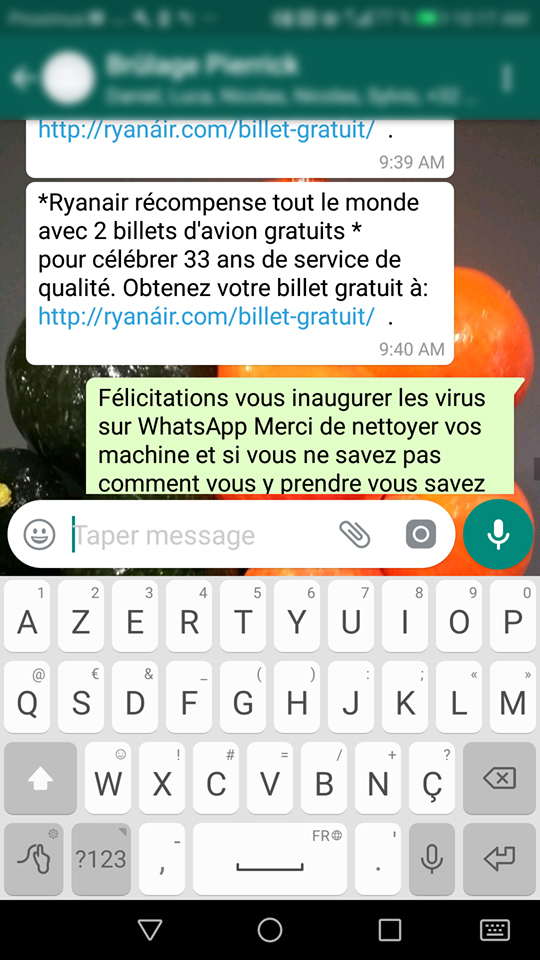 Uniwan : sécurité, screenshot