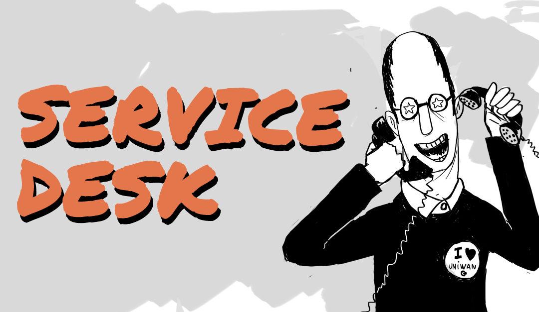 FAQ U1BOX, l'encadrement I : Le Service Desk